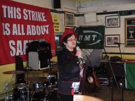 RMT strike solildarity gig, The Cock Tavern, London, 26 January 2019