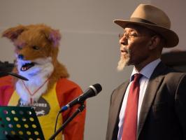 Linton Kwesi Johnson, Ted Hughes Poetry Festival, 24 June 2017