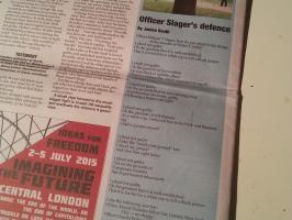 Officer Slager's Defence in Solidarity 360.
