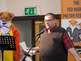 Tim Wells, Ted Hughes Poetry Festival, 24 June 2017